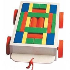 Arabalı Renkli Bloklar