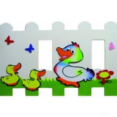 Ördek ve Yavruları Çit ve Seperatör
