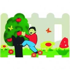 Ağaçtaki Çocuk Çit ve Seperatör