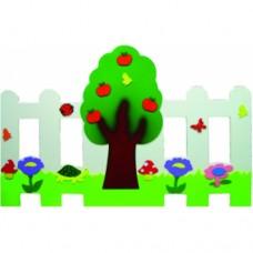 Elma Ağacı Çit ve Seperatör