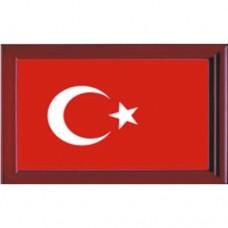 Çerçeveli Türk Bayrağı