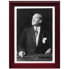 Çerçeveli Atatürk Posteri