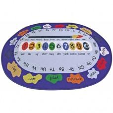 Sayılar ve Renkler Oyun Halısı