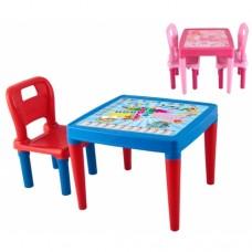 Ev Tipi Tekli Masa Sandalye